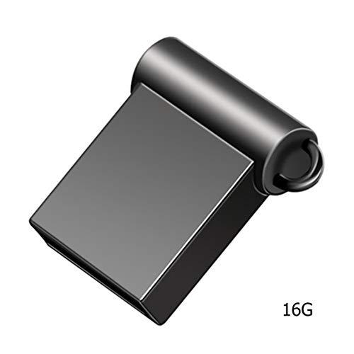 Zinniaya Mini Unidad Flash USB de Metal 4 GB 8 GB 16 GB Pen Drive 32 GB 64 GB USB 2.0 Flash Stick Pendrive
