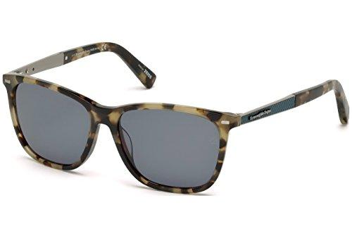 Ermenegildo Zegna Herren EZ0023 Sonnenbrille, Mehrfarbig, 56
