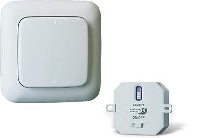 Home Easy HE805S Funk- Wandschalter mit integriertem Ein- und Aus- Schalter von Home Easy bei Lampenhans.de