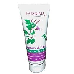 Patanjali Face Wash - Neem Tusli (60g) (Pack of 3)