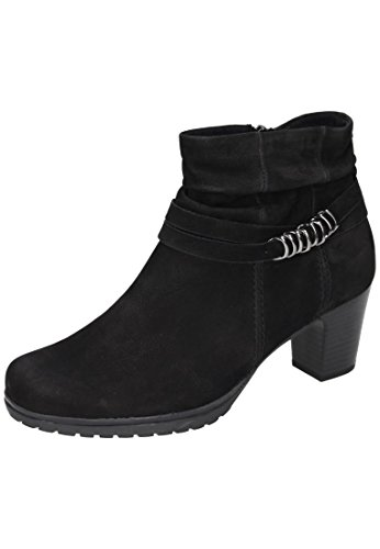 Gabor Shoes Comfort Basic, Stivali Donna Nero (47 Schwarz Micro)