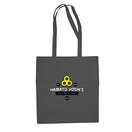 Hamato Yoshi's Ninjutsu Academy - Stofftasche / Beutel Grau