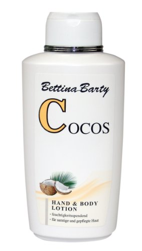 Bettina Barty Cocos Hand & Body Lotion, 6er Pack (6 x 500 ml)