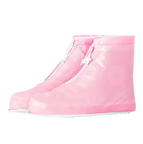EU39-EU46 ODRD Schuhe Herren Unisex Regenstiefel Überschuhe Wiederverwendbare, Wasserdichte Reiseschuhe Hallenschuhe Worker Boots Laufschuhe Sportschuhe Wanderschuhe Reitstiefel (Boot Überschuhe Kostüm)