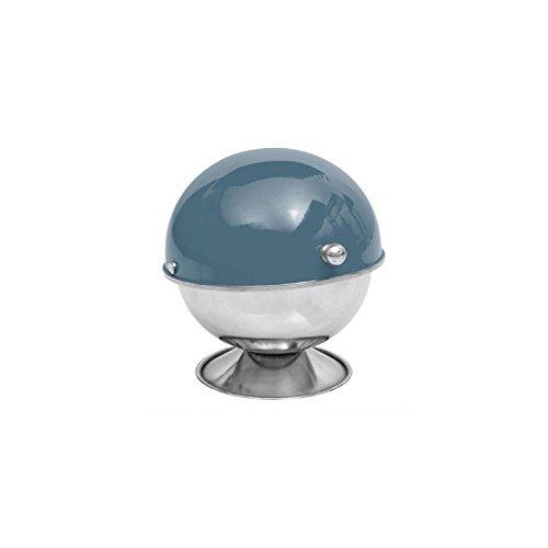 Sucrier - 9 x 13 cm - Inox - Bleu