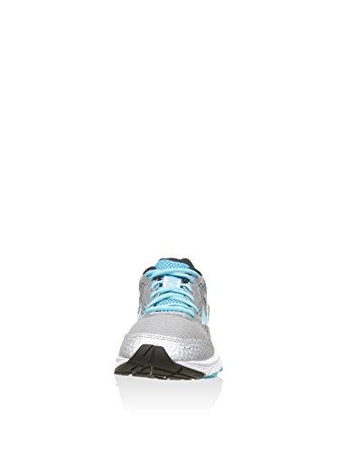Mizuno Scarpe Running Wave Elevation Donna Silver/FuchsiaPurple/Bato Silver-Blu