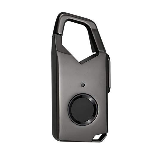 SODIAL Cerradura con Huella Digital Cerradura Inteligente Equipaje par