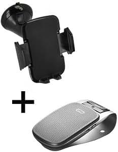 Pack accessories auto kit main libre Jabra drive et support smartphone