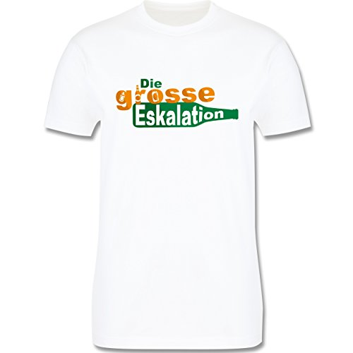 Festival - Die große Eskalation - Herren Premium T-Shirt Weiß