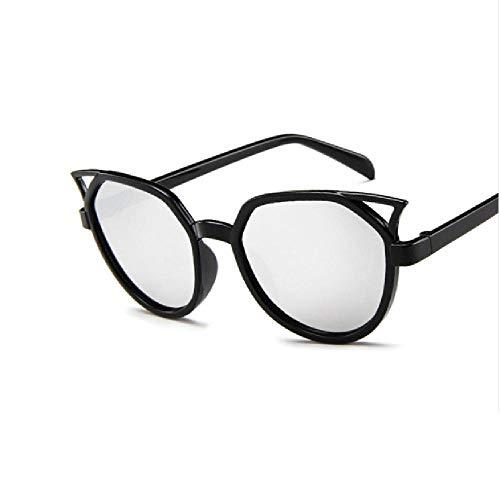 SIMINGSHUAI Sonnenbrille Herren Damen Kunststoff Cat Eye Small Frame Outdoor Sonnenbrille G