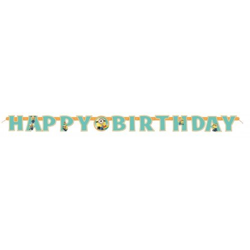 Despicable Me Bunting Letter Banner pkt
