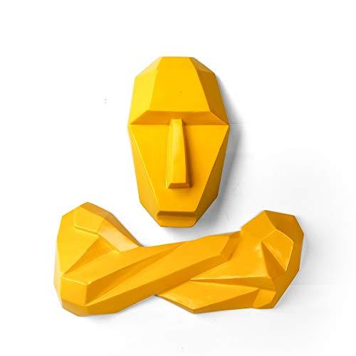 Figuras,Estatuas,Estatuillas,Esculturas,Vintage Amarillo
