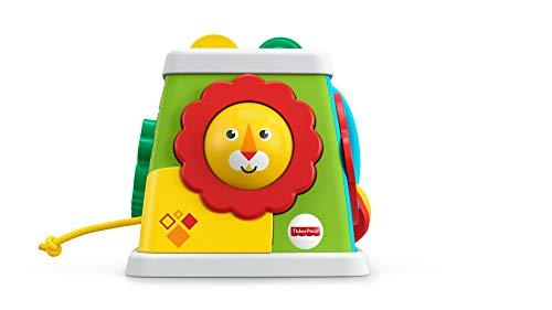 Mattel- Fisher-Price-Cubo giros y sorpresas