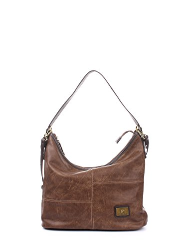 Greenwich Polo Club PG16W14008 Hobo Bag Donna Ecopelle Taupe Taupe PZ