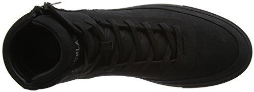 Replay Paxton, Baskets Basses Homme Noir - Schwarz (Black 3)
