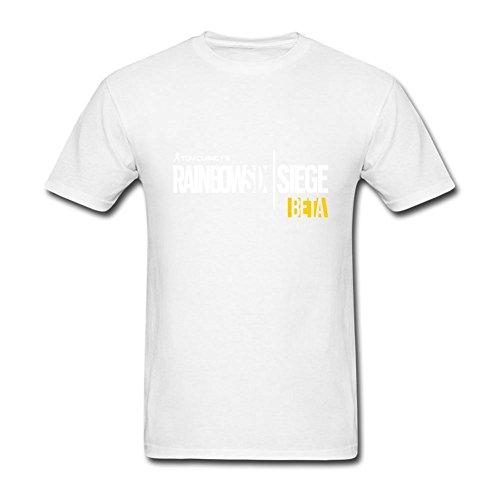 UKCBD -  T-shirt - Uomo bianco Medium