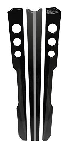 502303-VA Protection de réservoir 3D Stripes Grey pour Yamaha XSR 900