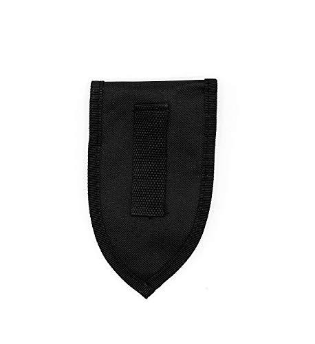 Mini-Schaufel aus Edelstahl klappbar mit Tasche - 3