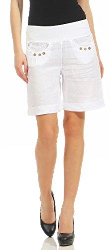 malito Damen Bermuda aus Leinen   lässige kurze Hose   Shorts für den  Strand   Pants 9104823200