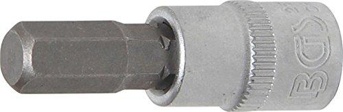 BGS 2501 Douille à embouts six pans intérieurs, Argent/gris, 7 mm