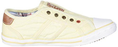 Mustang Slipper - Pantoufles Maison Unisexes Jaunes (gelb (pastellgelb 610))