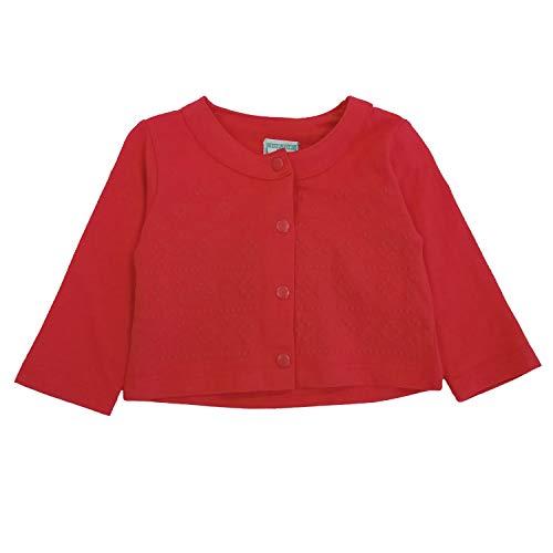 Top Top Baby-Mädchen  romeralita Mantel, Rot (Coral 107), 92 (Herstellergröße: 24-36) (Rot Mädchen Mäntel)