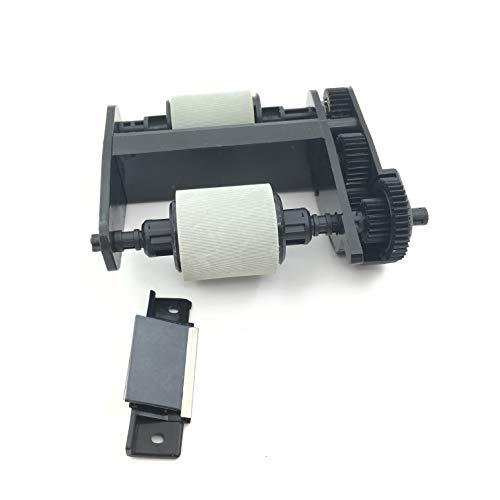 Adf-roller (OKLI 5SET X Q3948-67904 5851-3580 ADF Pickup Roller Trennpad für HP 2820 2840 CM1312 CM2320 3050 3052 3055 3390 3392 M1522 M2727 Pro 300 M375 M475 3030 3300 3310 3320 3330 OfficeJet 6110 6150)