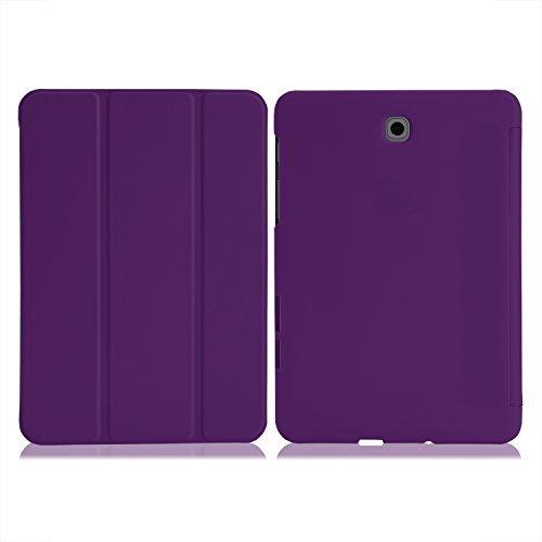 """MoKo Étuis pour Tablette (Dossier, Samsung, Galaxy Tab S2/S2 Nook 8.0, 20,3 cm (8""""), Violet"""