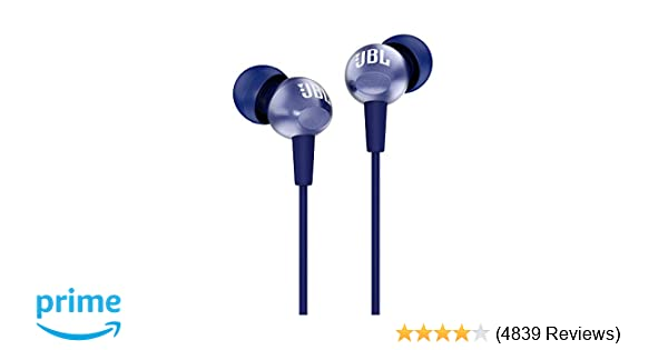 jbl c200si in-ear headphones with mic (mystic blue): buy jbl c200si in-ear  headphones with mic (mystic blue) online at low price in india - amazon in