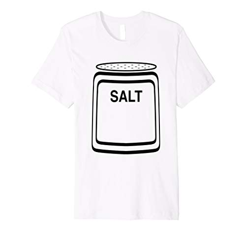 Salzstreuer Halloween-Kostüm T-Shirt für Paare