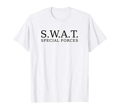 Forces Kostüm Kind Special - SWAT TShirt Spezialeinheit super Kostüm Special-Forces-Shirt