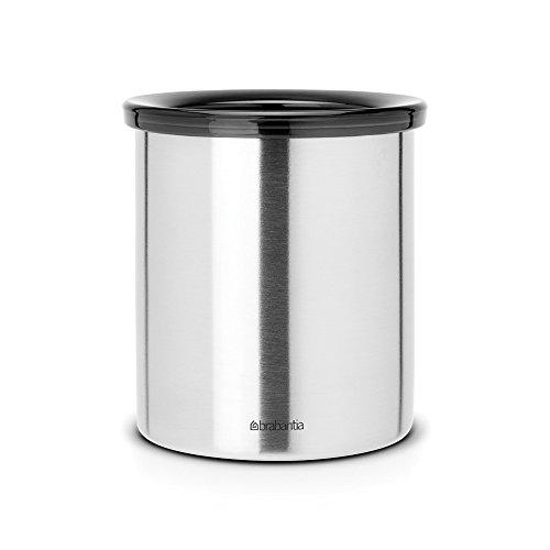 BRABANTIA Tischabfallbehälter matt steel, für Kaffeepads