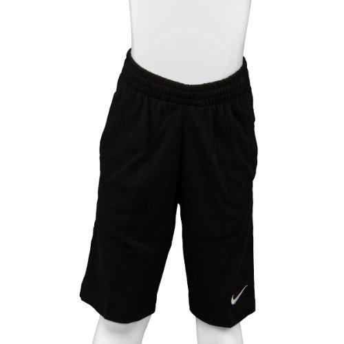 Nike Jungen Kurze Hose N45 Jersey, black/black/white, S, 449359-010
