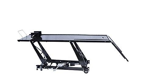 Table de levage extra longue pour motos 220+55cm - Pont élévateur - Plateforme élévatrice maxi