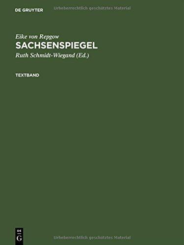 Sachsenspiegel: Die Wolfenbütteler Bilderhandschrift Cod. Guelf 3. 1. Aug 2°: Faksimile Und Textband