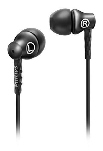 Philips SHE8100BK/00 In-Ear-Kopfhörer (Metallgehäuse, Turbo Bass Technologie) schwarz