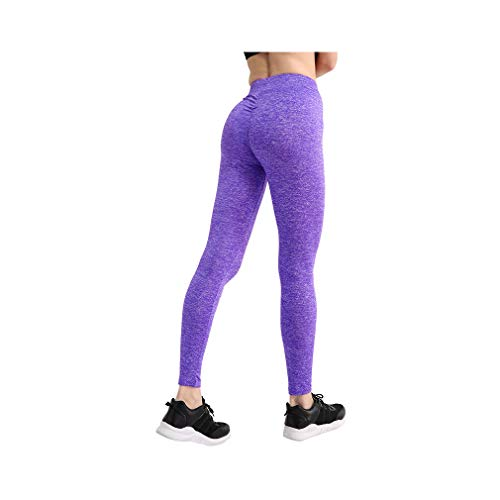 aoliaoyudonggha Women Push Up Leggings Workout Slim Leggings Polyester Jeggings Pencil Pants (In Zella-live)