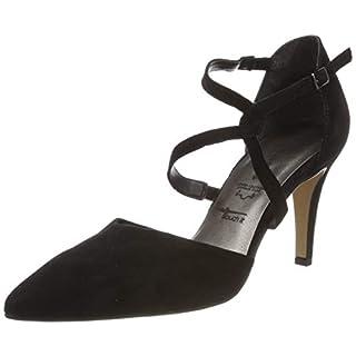Tamaris Damen 1-1-24425-22 Slipper, Schwarz (Black 1), 38 EU
