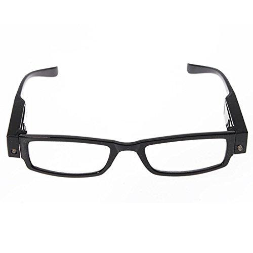 ACAMPTAR Gafas lectura Lupa Lente aumento LED Presbicia