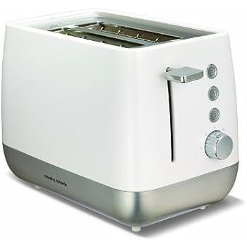 Morphy Richards 221151 Chroma Two Slice Toaster - White/Silver