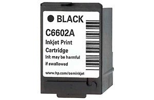 HP C6602A Cartouche d'encre noire pour imprimantes 102x89x51mm 10-90% -30–60°C
