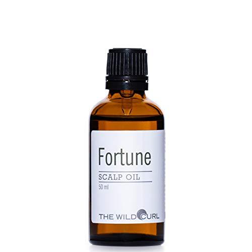 Fortune Scalp Oil Treatment - trockene und empfindliche Kopfhaut ins Gleichgewicht bringen   50 ml   Sulfatfrei, vegan & 100% natürlich   Teebaum, Salbei und Jojobaö - Wilden Salbei