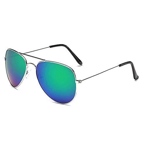 HJBH Sonnenbrille XHM-51 Koreanische Männer und Frauen Sonnenbrille Persönlichkeit Stern Modelle Paar Sonnenbrille Outdoor Strand Freizeit Uv400 Schutzbrille - (3 Farben optional) ( Color : Green )