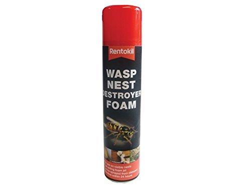 Rentokil PSW97 Wasp Destroy Foam Aerosol 300ml