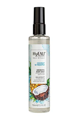 H2EAU LONDON Coconut & Pineapple Body Mist With Real Fruit Extracts 150ml