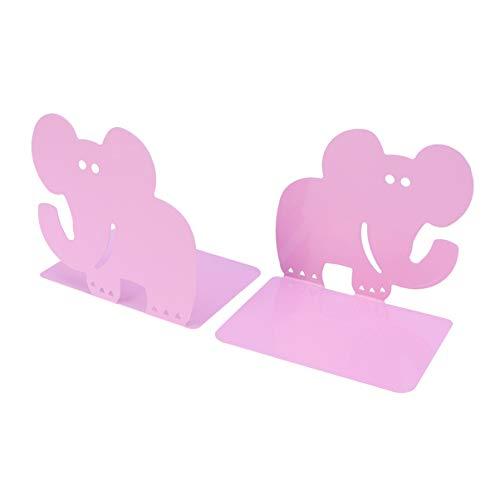 VOSAREA 1 Paar Bücherregal Elefant tragbar Cartoon Desktop Organizer Bücherständer für...