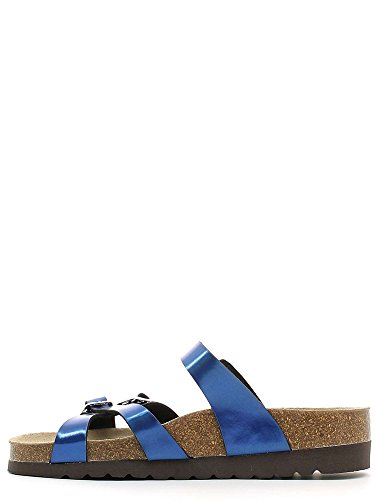 Grunland CB0301 Sandales Femmes Bleu