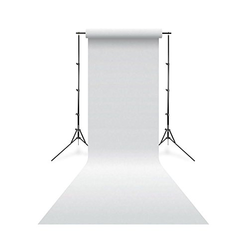 Linkstar fond de studio papier 01 Blanc Arctique 1,38 x 11m