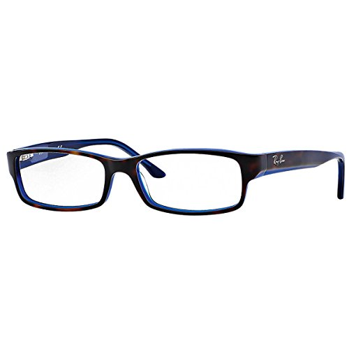 a234c0d941b Ray Ban Optical Occhiali da sole RX5114 - 5064  Tartaruga su blu - 54mm