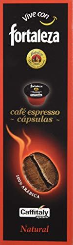 Café Fortaleza Café Natural 100% Arabica - 10 cápsulas
